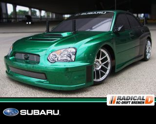Karosserie des Monats April - Subaru Evolution